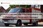 Feuerwehr Rennau stellt neue Homepage Online